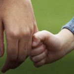 Håller händer